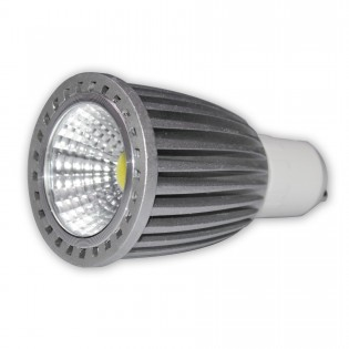 FLOODLIGHT DE LED 40W CARCASA METALICA BLANCA BLANCO CALIDO