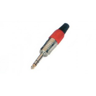 BASE JACK 6,3mm STEREO NEGRA